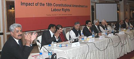 Breifing Session on Labour Laws in PILDAT -3