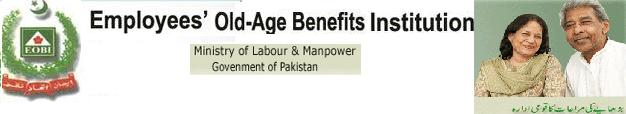 EOBI Ministry of Labour and Manpower GoP - Pensioners