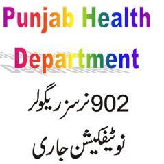 Punjab Health Department: 902 Nurses Regular