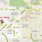 Location Map of Edwardes College Peshawar