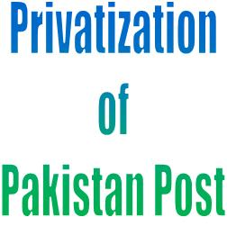 Lahore: Protest against the privatization of Pakistan Postal Department