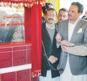 "Mingora, Swat: Darul Qaza inaugurated: Daily ""Azadi"" Swat & ""Business Recorder"""