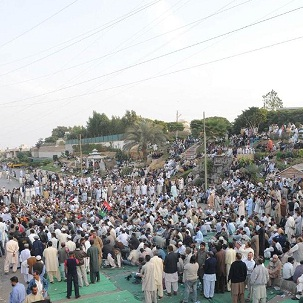 KESC Employees Dharna (Sit-in) Continue on third day