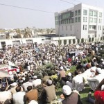 KESC Workers Sitin and protest in front of KESC Head Office Karachi
