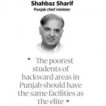 Shahbaz Sharif Punjab Chief Minister - The poorest students of backward areas in Punjab should have the same facilities as the elite - inauguration of Danish School in Rahim Yar Khan