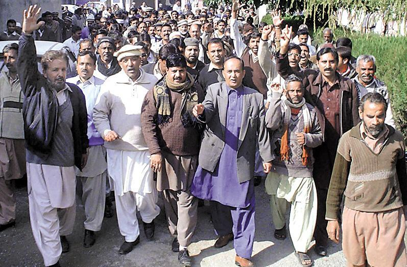APCA Rawalpindi Rally of Govt employees (pic)