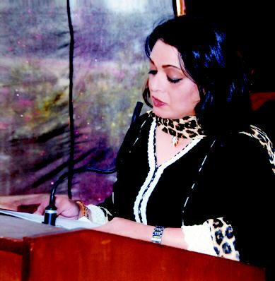 Chairman CAA Women Association Mrs Zareen Nadeem Yousaf Zai Address