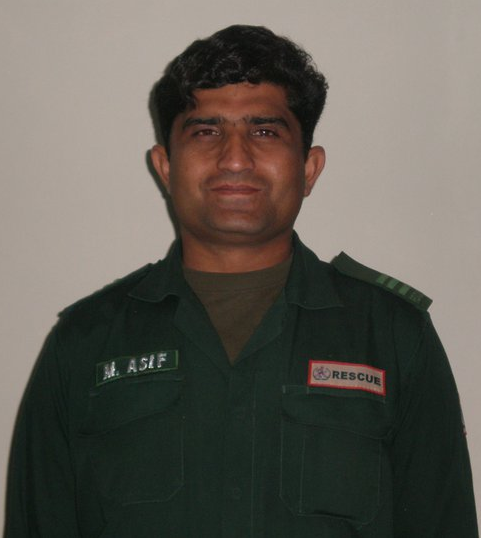 Rescue 1122 Official (M.Asif) Shaheed During Duty in Gujranwala