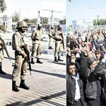 PIA Employees protest at BeNazir Airport Islamabad (pic)