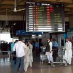 PIA Strike - a view of Karachi terminal