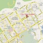 Poly Clinic Hospital Islamabad  Location Satellite Map
