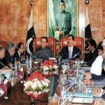 President & PM Gillani in meeting on Employees pay reduction