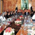 President & PM Presiding over meeting on Economy in Islamabad