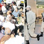 Rangers Taking control of Islamabad Airport