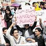 Rawalpindi Medical College Doctors Protest