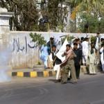 Sindh Non Teaching Staff Protest in Karachi