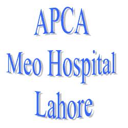 APCA Mayo (meo) Hospital Lahore Elections