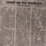 Asma urges Judiciary to statnd up for workers