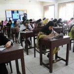 Entry Test for Admission in Lyarri Medical College Karachi (pic)