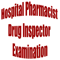 Hospital Pharmacist & Drug Inspector Exam on March 13, 2011: PPSC