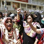 Hyderabad Lady Health Workers (LHW) Protest