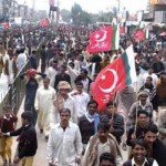 Labour Party Protests in Faisalabad (Dawn Pic 2-3-2011)