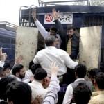 PCS Officers Arrests from Civil Secretariat Lahore (pic)