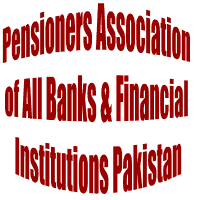 Lahore: Pensioners Association of All Banks & Financial Institutions Pakistan protest