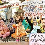 Punjab Teacher Union Hunger Strike (pic)