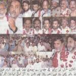 WAPDA Multan Hydro Electric Labour Union reception, Ch Khalid & others addressing