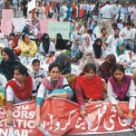 Young Doctors (YDA) Dharna on Mall Road Lahore
