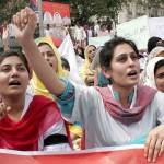 Young Girls Doctors on Strike