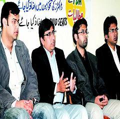 YDA Rawalpindi President Dr Umar Saeed Press Conference