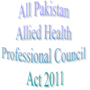 Islamabad: Paramedics across Pakistan opposed health professional council act