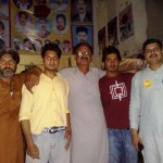 Attiq ur Rehman with other supporters of Khalid Group