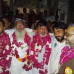 Ch Muhammad Khalid, Saleem Gillani, Shaikh Imran & Ch Muhammad Younis after victory 2