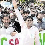 Employees, Students & Teachers Protest in support of HEC