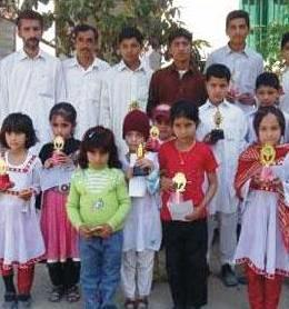Islamia Public School Sakhakot Position Holders Students Group Photo