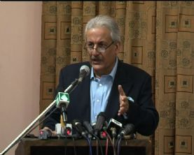 Mian Raza Rabbani Federal Minister for inter-provincial Coordination