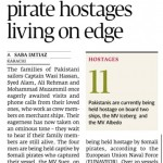 Pakistani Pirates Hostages require money