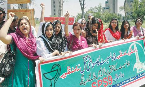 Pharmacists (PPA) Protest in Islamabad for New Pay Scale