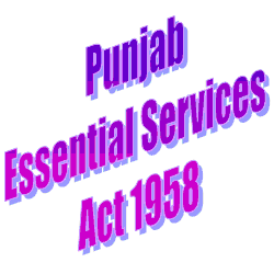 Punjab Essential Services Act 1958