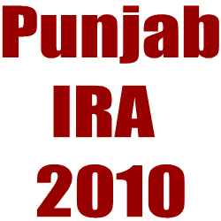 Punjab Industrial Relations Act (IRA) 2010