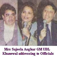 UBL Khanewal GM Mrs Sajeela Asghar Welcome party at Private Form House on April 17, 2011
