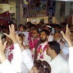 Sh Imran & Saleem Gillani with WAPDA Multan Employees 3