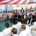Shahbaz Sharif Laying Foundation Stone of Danish Schools in DG Khan