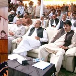 Shahbaz Sharif assressing inauguration ceremony of Danish Schools Chishtian