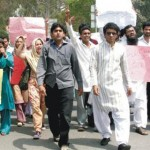 Student Protest in Ounjab University for HEC