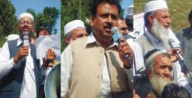Buner Hundreds of Employees Protest for Pay Raise & Pension