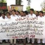 Doctors of Khyber Pakhtunkhwa on Strike